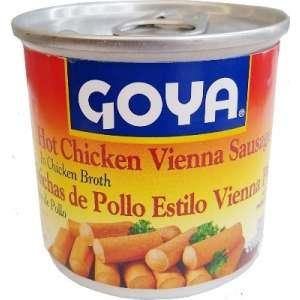 Goya Salchichas de Pollo Vienna Picante