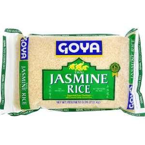 Goya Arroz de jazmín tailandés 5 libras