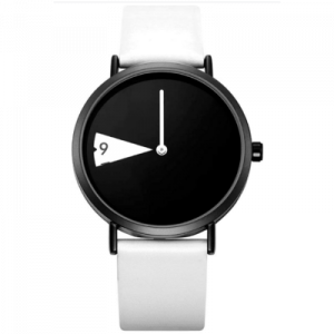 Shengke Reloj para mujer a prueba de agua minimalista reloj ultra fino correa de cuero moda cuarzo