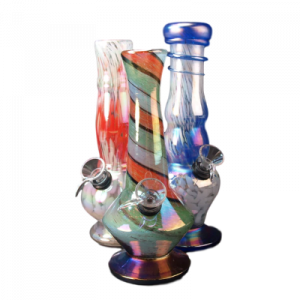Pipas de vidrio blando de 8 '
