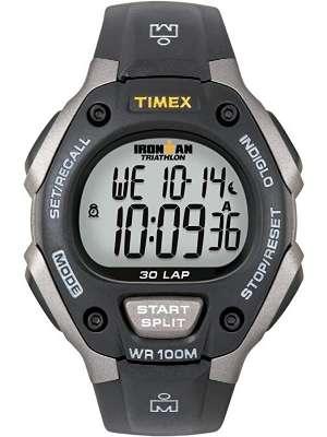 Timex Ironman Classic 30 Reloj para hombre a prueba de agua, reloj deportivo, cronómetro.
