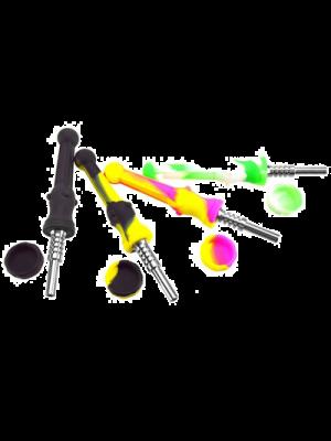 Recolecto de miel de silicona, Punta de titanio de 14 mm, Colores variados