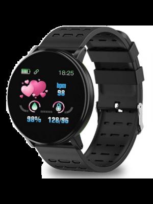 Dihao Reloj para mujer a prueba de agua, inteligente con monitor de presion arterial de frecuencia cardíaca, Bluetooth, deportivo rastreador de actividad compatible iPhone Android