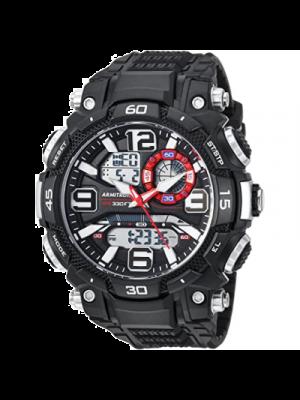 Armitron Sport Reloj para hombre a prueba de agua analogico digital con correa de resina para hombre, deportivo.