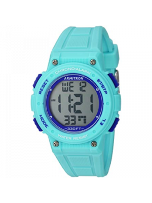 Armitron Sport 45/7086 Reloj para mujer a prueba de agua, cronografo digital, cuarzo
