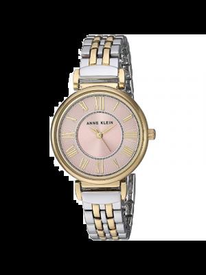 Anne Klein 2159 PKTT Reloj de Pulsera para mujer a prueba de agua.