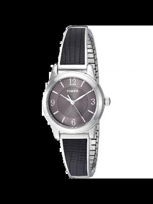 Timex B07V6GW8LP Reloj para mujer a prueba de agua, Reloj elastico, Acero inoxidable (0.984 in)